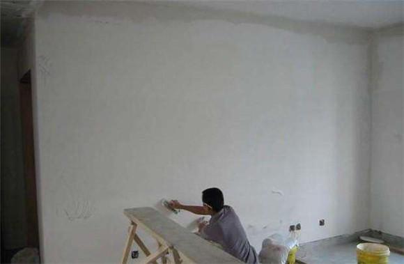 刷墙的灰怎么擦干净