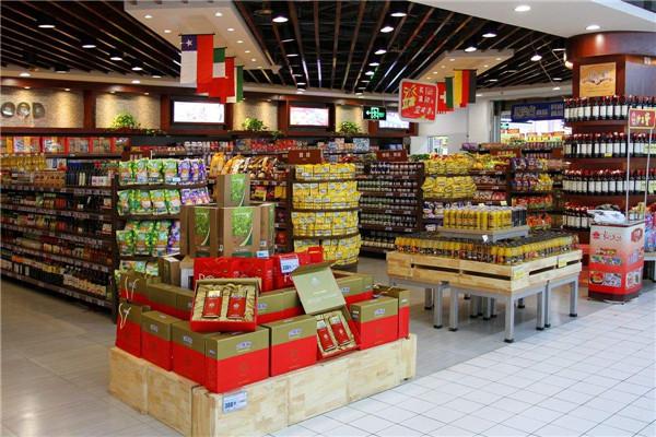 西安超市装修设计案例图