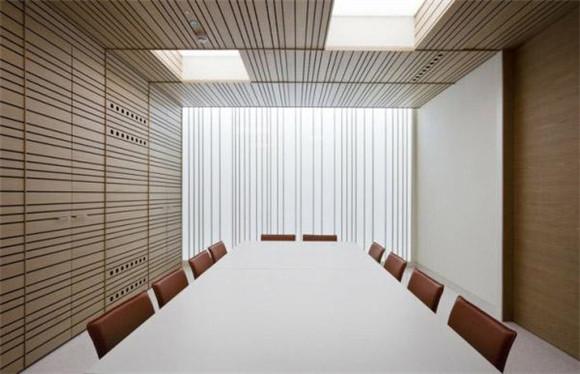 简约会议室装修效果图