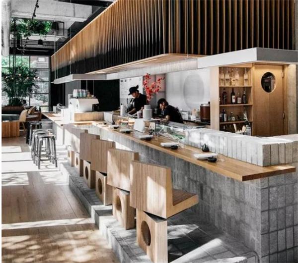 杭州餐饮店装修效果图