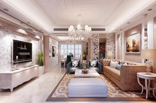 旧房装修欧式风格设计效果图