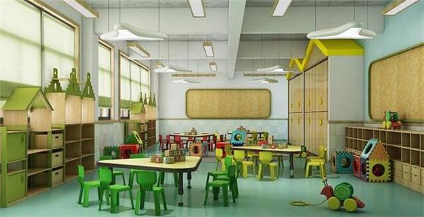 小型幼儿园装修设计效果图