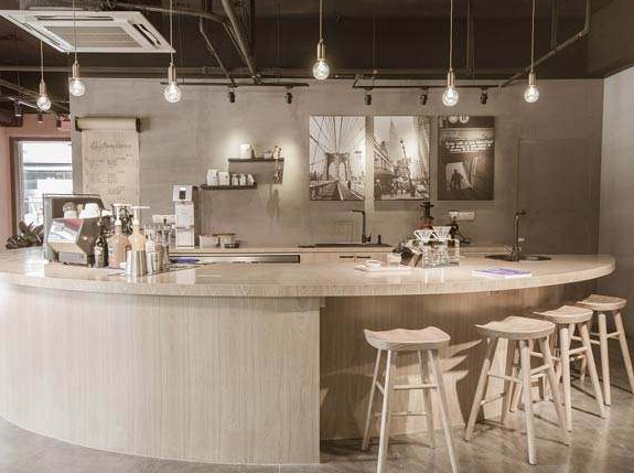 青岛咖啡店装修设计效果图1