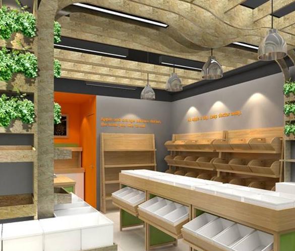 青岛水果店装修公司排名