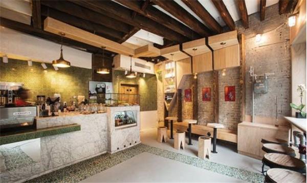 杭州咖啡店装修效果图