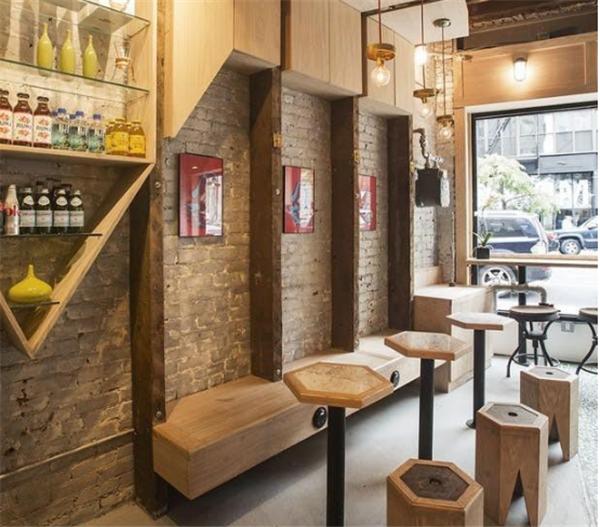 杭州专业咖啡店装修装修效果图