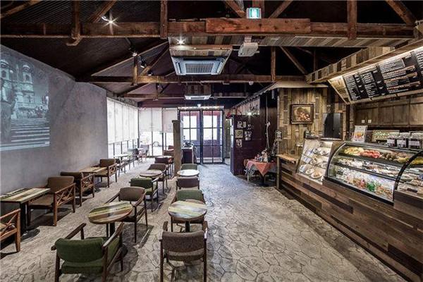 重庆咖啡店装修设计公司
