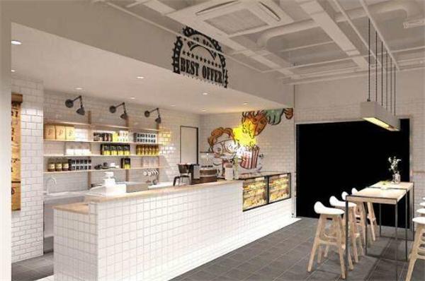 西安咖啡店装修案例图