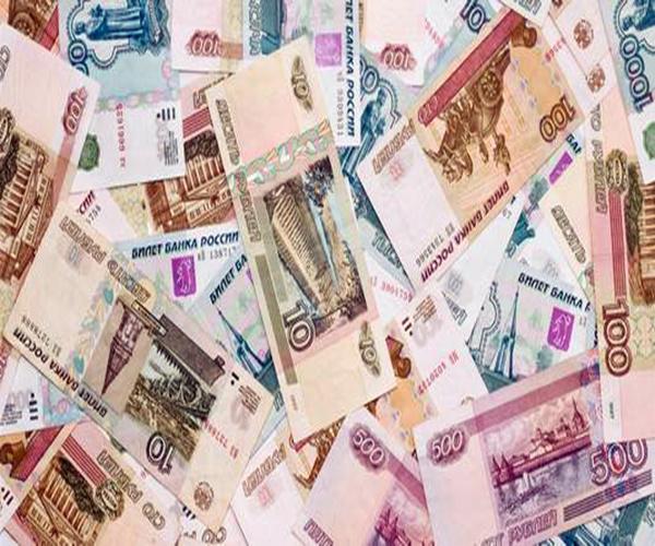 卢布对人民币中间价