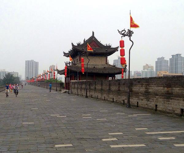 西安城墙历史简介