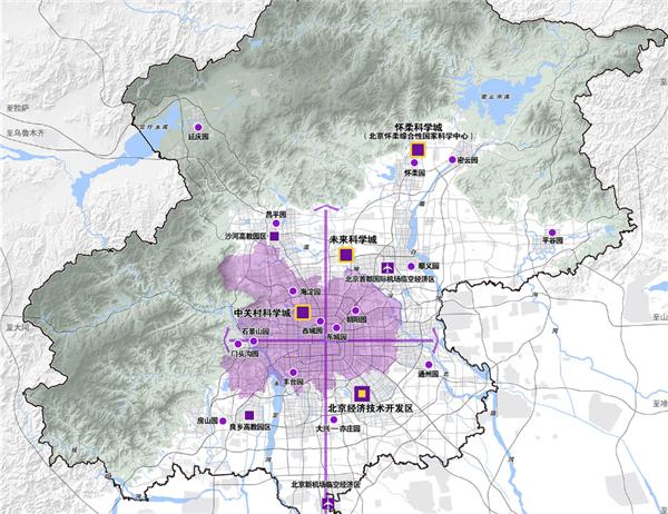 北京市城市规划方案