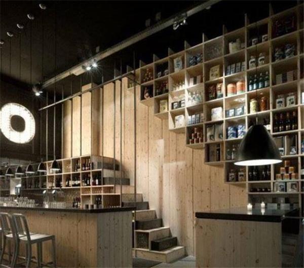 南京工业风格咖啡店装修案例