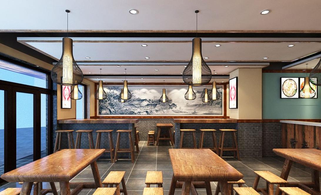 重庆300平米餐馆装修效果图