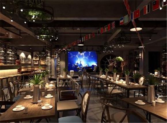 重庆创意餐馆装修效果图