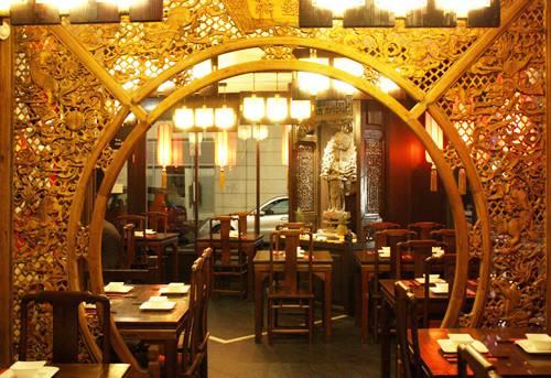重庆餐馆装修设计
