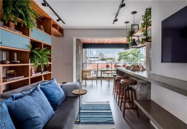 小户型公寓客厅装修设计