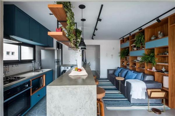 小户型公寓厨房装修设计