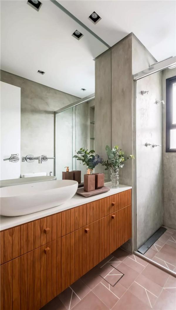 小户型公寓卫生间装修设计