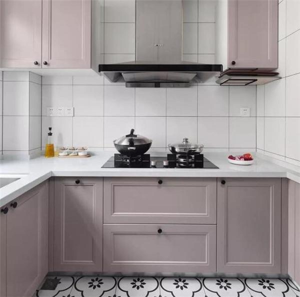西安老房厨房装修设计案例