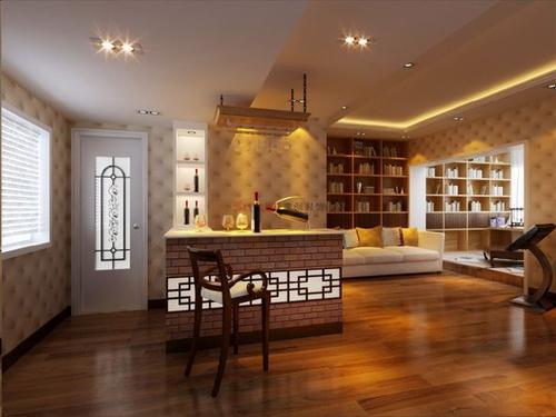 阁楼装修休闲风格设计效果图