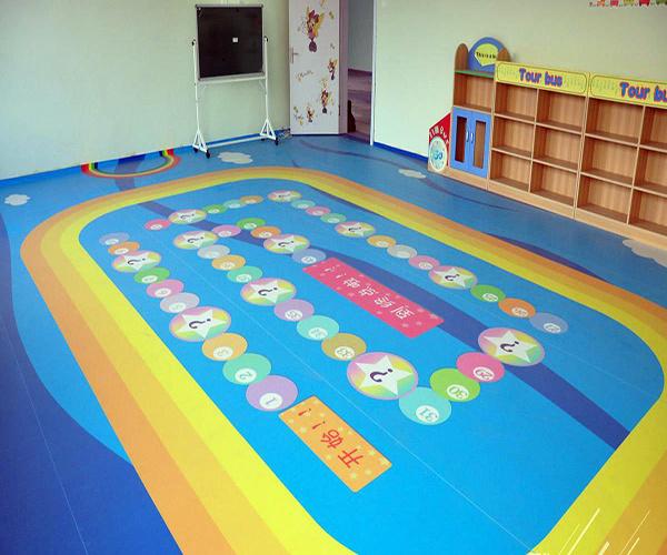 幼儿园室内地板图案大全