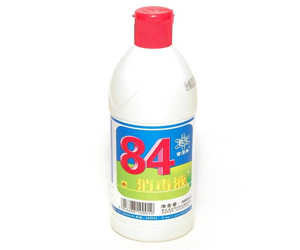 84消毒液能洗衣服吗