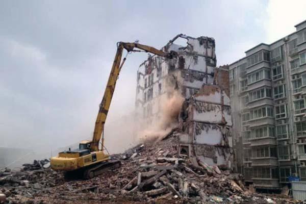 房屋拆除施工方案范本