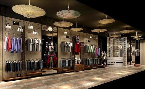 服装店装修设计技巧之合理规划