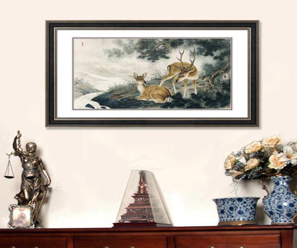 客厅墙画挂什么好