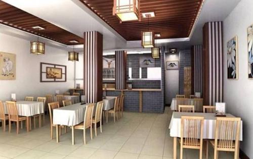 餐饮店装修设计中式风格效果图