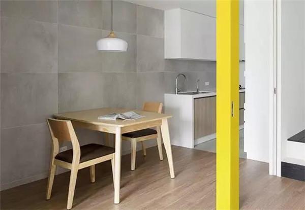 75平米二手房5万元装修餐厨效果图
