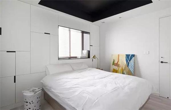 75平米二手房5万元装修主卧效果图