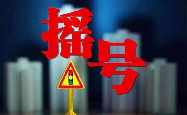 杭州车牌摇号条件2019