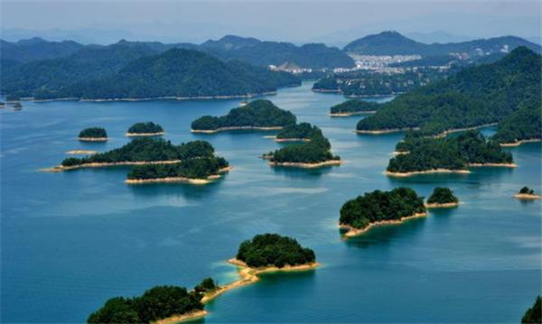 杭州千岛湖美景图片
