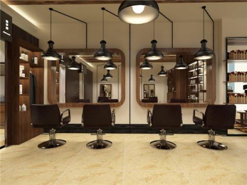 美发店装修技巧之合理空间设计