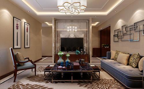 房子装修设计中式风格效果图