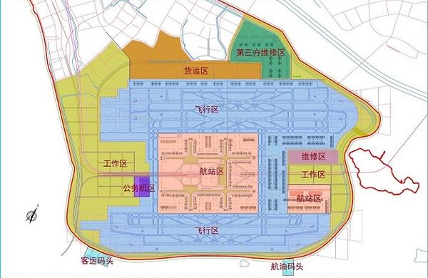 厦门新机场建设规划图