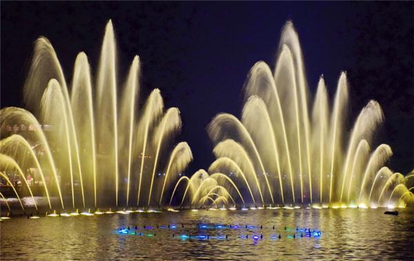杭州音樂噴泉時間2019