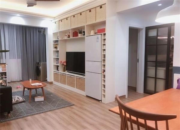 65平米小户型简约装修客厅效果图