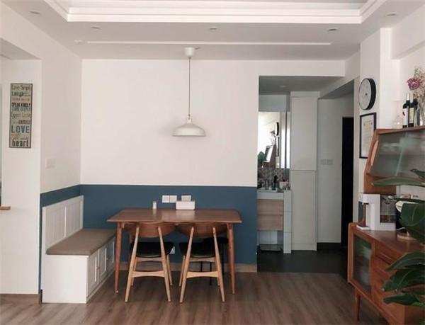 65平米小户型简约装修餐厅效果图
