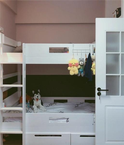 65平米小户型简约装修儿童房效果图