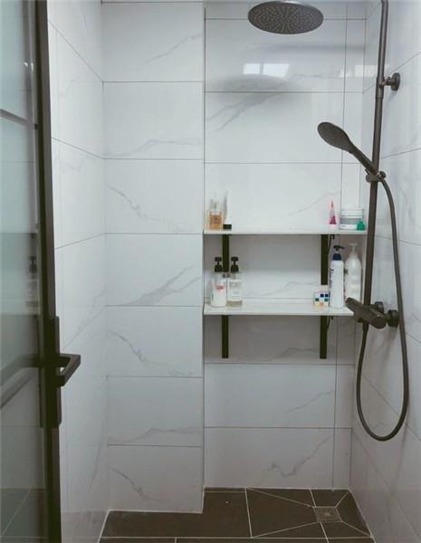 65平米小户型简约装修卫生间湿区效果图