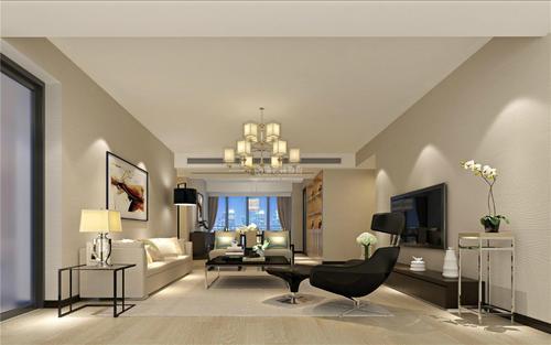房屋装修混合型风格设计效果图