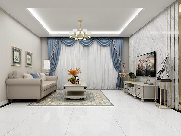 窗帘和沙发配色