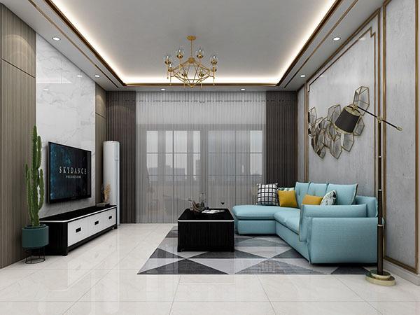 窗帘和沙发