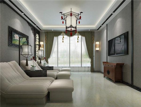 舟山南天装饰中式风格设计案例