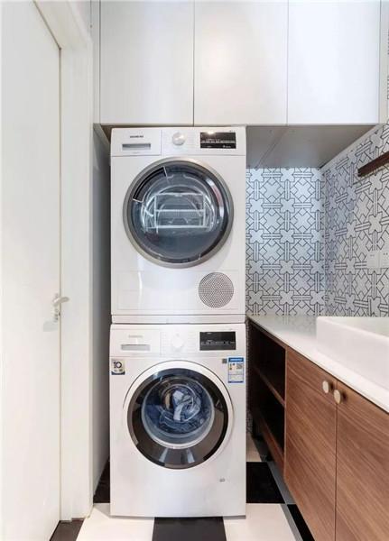 舟山65平米小户型装修洗手间效果图