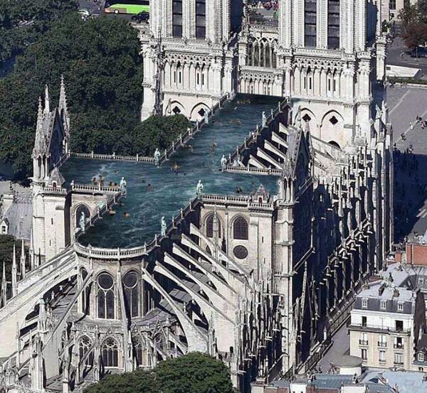 巴黎圣母院修复要多久