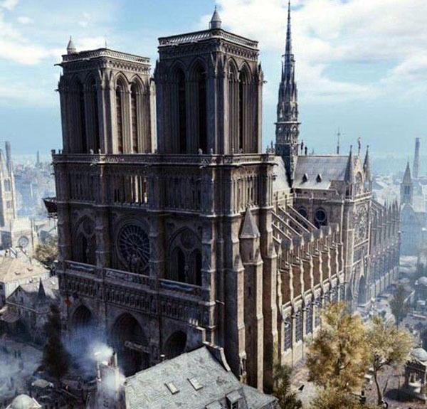巴黎圣母院修复费用