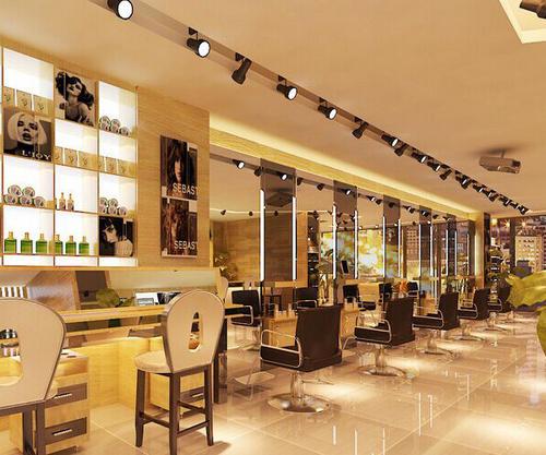 中山美发店装修流程步骤之美发区
